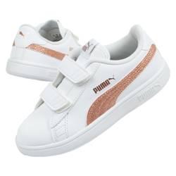 Buty sportowe dziecięce Puma Smash [375862 02]