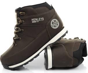 Buty zimowe HENLEYS Oakland [HTG00239 BROWN]