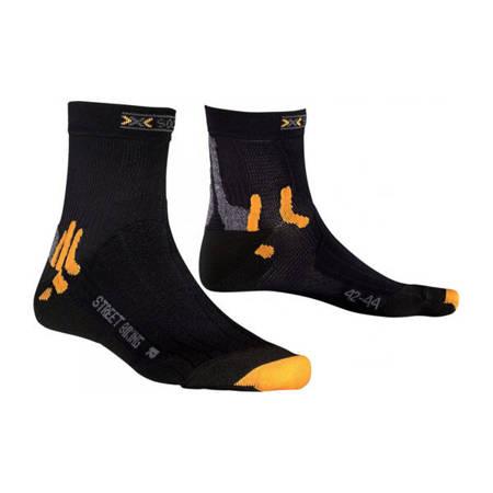 Skarpety X-Socks Street Biking Black [X20001-X01]